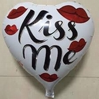 Kiss Me folieballon