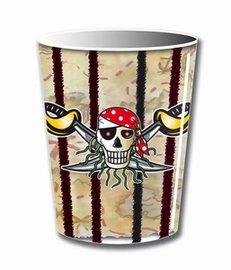 Bekers Red Pirate 250ml, 8 stuks