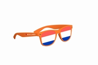 Bril Blues Brothers Oranje assorti