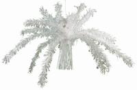 Plafond decoratie Palmbladen wit afm 1x1meter
