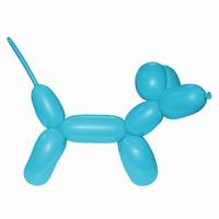 Blauw:Lichtblauw Modelleerballon 260