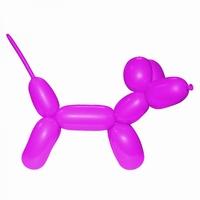 Roze:Pink Modelleerballon 260
