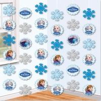 Frozen Disney Anna.Elsa en Olaf hangdecoratie 6x1,5 meter