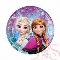 Frozen Disney Bord Ice Anna en Elsa 23cm, 8 stuks