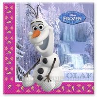 Frozen Disney Olaf Servetten 33x33cm, 20 stuks