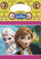 Frozen Disney Uitdeelzakje / feestzakje, 6 stuks