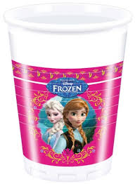 Frozen Disney Beker Anna en Elsa 250ml, 8 stuks