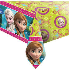 Frozen Disney Tafelkleed Anna en Elsa 120x180cm