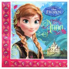 Frozen Disney Anna en Elsa Servetten 33x33cm, 20 stuks