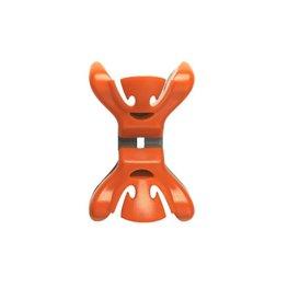 Slingerklemmen Clenchy Oranje, 4 stuks