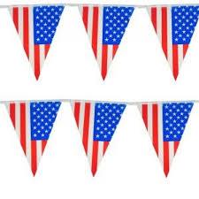 Vlaggenlijn Amerika/USA  10 m