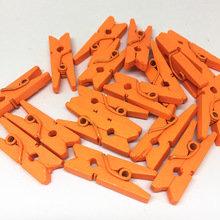 Oranje Wasknijpers mini, 20 stuks