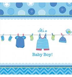 Baby Boy Tafelkleed, 138x259cm