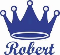Raamsticker kroon