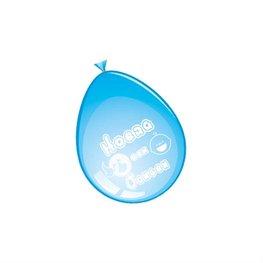 'Hoera een jongen' Ballonnen, 8 stuks