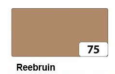 Bruin: reebruin, kleur tekstslinger
