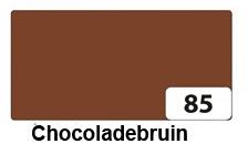 Bruin: chocoladebruin, kleur tekstslinger