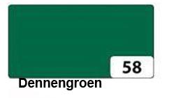 Groen: dennengroen, kleur naamslinger