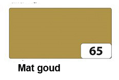 Goud: mat goud, kleur naamslinger