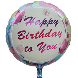 Happy Birthday to You Folieballon