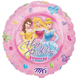 Happy Birthday Princess Folieballon
