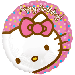 Hello Kitty 'Happy Birthday' Folieballon