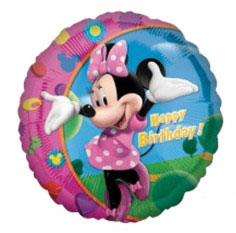 Minnie Mouse 'Happy Birthday' Folieballon