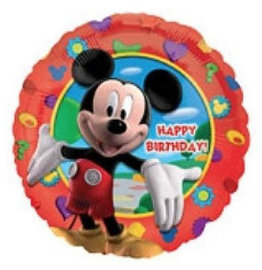 Mickey Mouse 'Happy Birthday' Folieballon