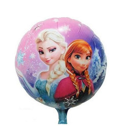 Frozen Anna en Elsa Folieballon