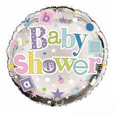 BabyShower Folieballon Metallic