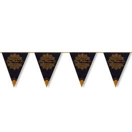 Hajj Mubarak vlaggenlijn metallic
