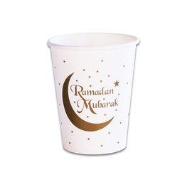 Ramadan Mubarak Bekers, 8 stuks