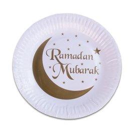 Ramadan Mubarak Bordjes, 8 stuks