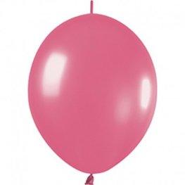 Roze Knoopballon