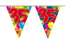 35 jaar, Vlaggenlijn, 10 meter