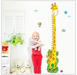 Groeimeter sticker Giraffe