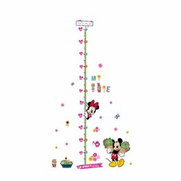 Groeimeter sticker Minnie Mouse