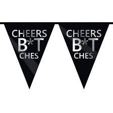 Cheers B*tches Vlaggenlijn