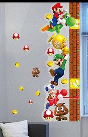 Groeimeter sticker Super Mario