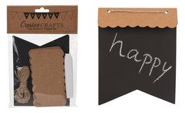 Krijt Vlaggenlijn DIY pakket, rechthoek