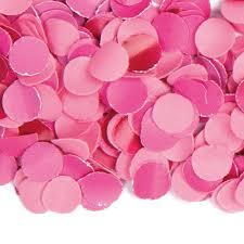 Roze:magenta Confetti luxe, 100 gram