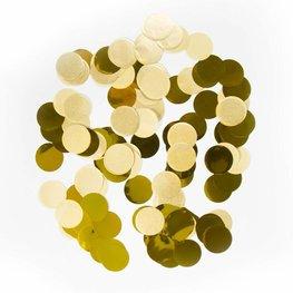 Goud confetti XL, 14 gram