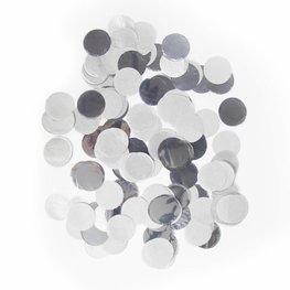 Zilver confetti XL, 14 gram