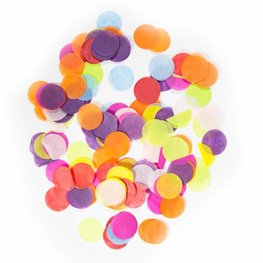 Assorti / Multi color confetti XL, 14 gram