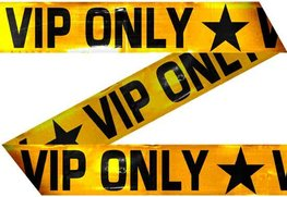 VIP Only Afzetlint, 15 meter