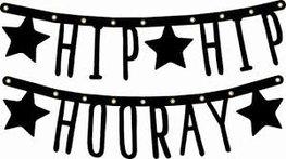 Hip Hip Hooray Letterslinger