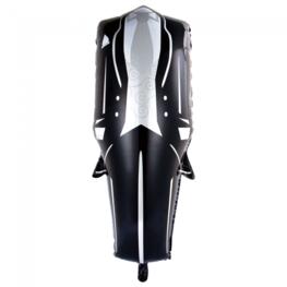 Bruidegom / trouwpak folieballon, 118 cm