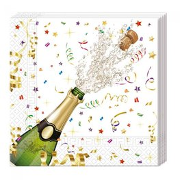 Sparkling celebration Servetten, 20 stuks