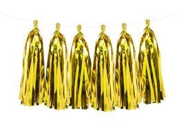 Goud Tassel slinger DIY, ca 2 meter