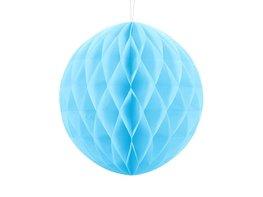 Blauw:Lichtblauw Honeycomb bal, 30cm